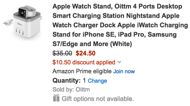 apple watch stand charger