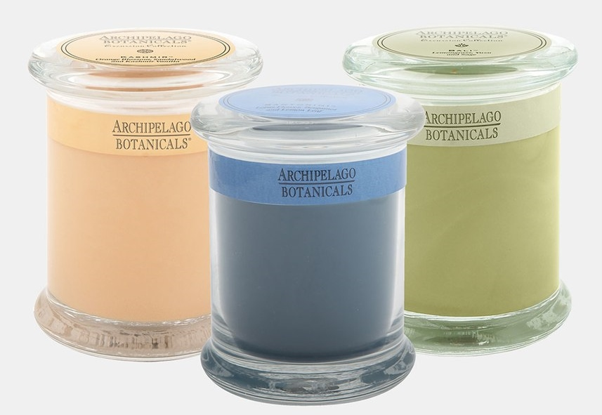 Archipelago Botanicals soy candles