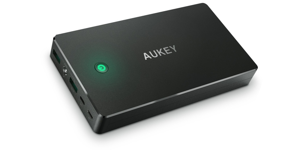 aukey lightning power bank