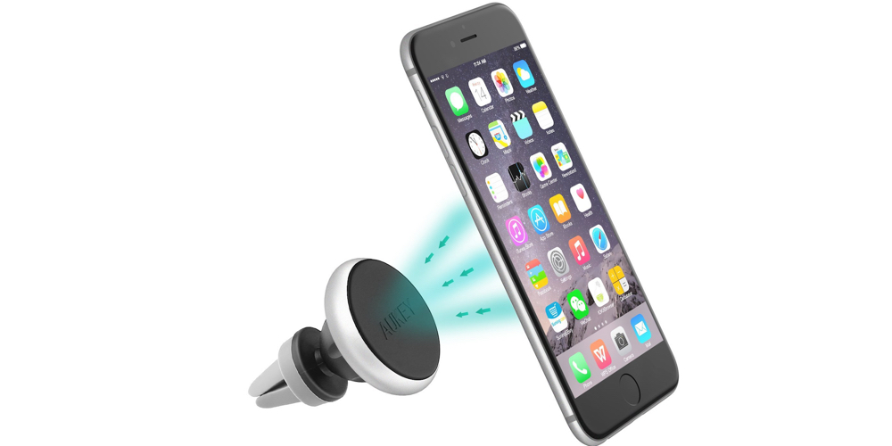 Aukey Universal Smart Phone Magnetic Air Vent Car Mount Holder