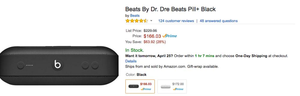 beats pill amazon