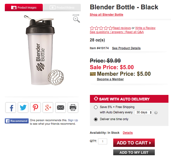 blender bottle deal