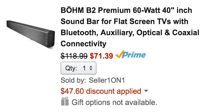 bohm-soundbar-deal