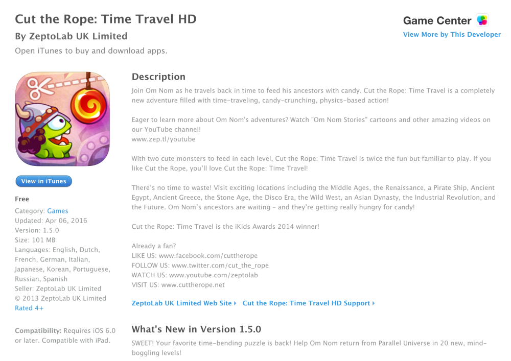Cut the Rope Time Travel-sale-free-05