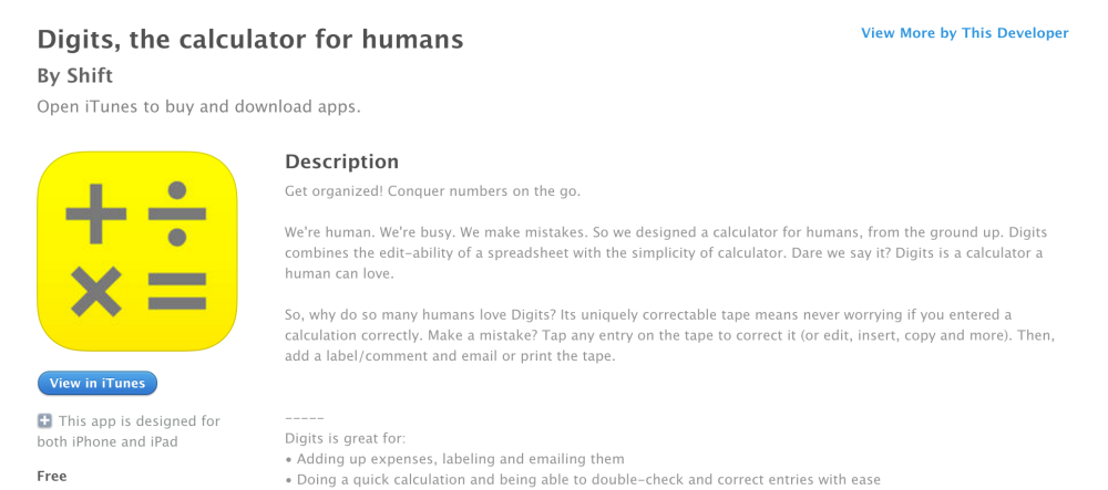 Digits, the calculator for humans-sale-01