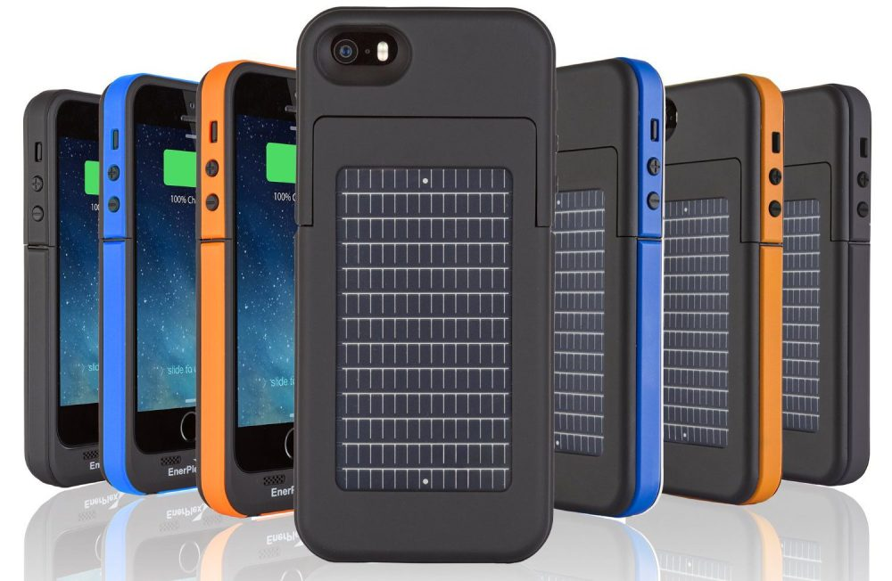 EnerPlex Surfr Battery & Solar Case for iPhone SE, 5s and 5
