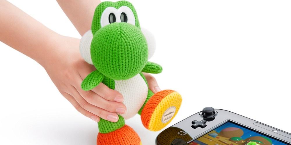 Green Mega Yarn Yoshi amiibo