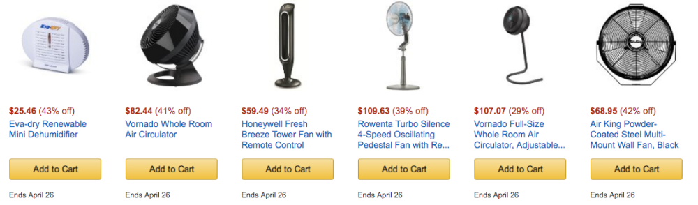 home cooling products amazon