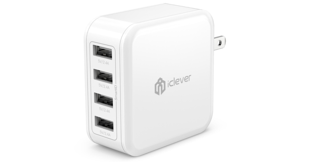 iclever 4port usb charger