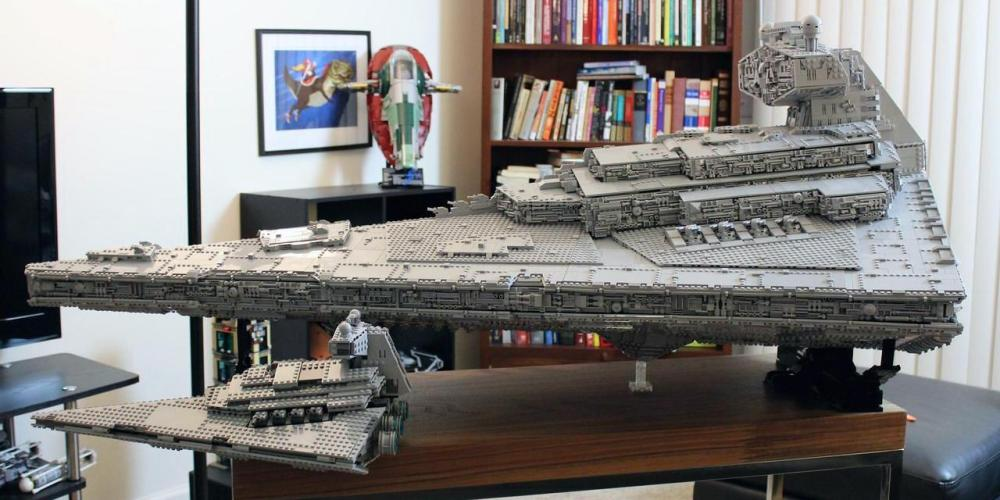 Imperial Star Destroyer-LEGO