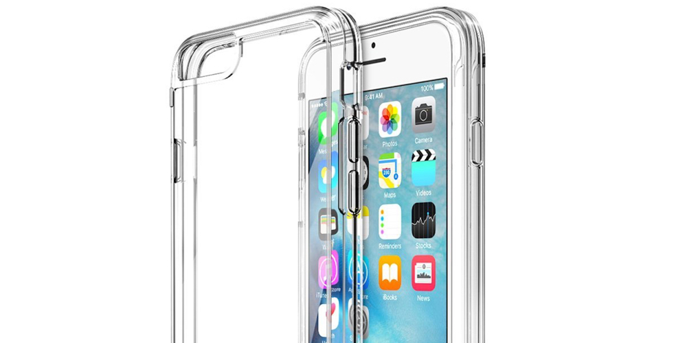iPhone 6S Case, Trainium [Clear Cushion] Premium Clear Case