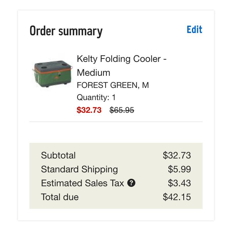 Kelty Folding Cooler (Medium)-3