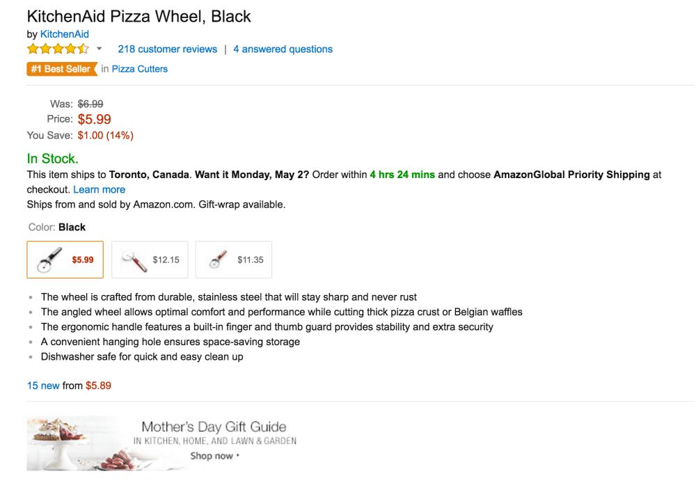 KitchenAid Pizza Wheel cutter-2