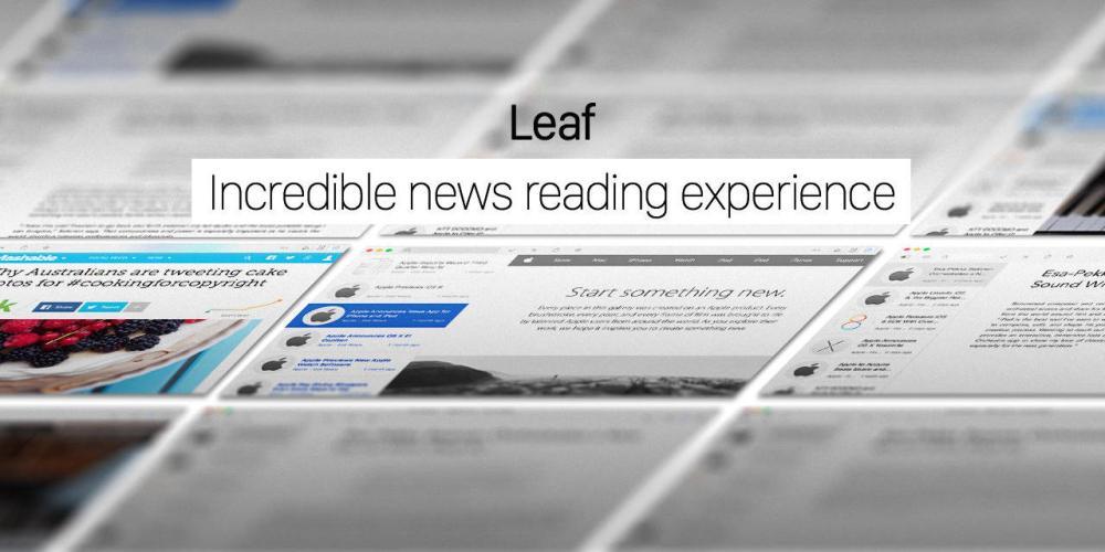 Leaf news reader-01