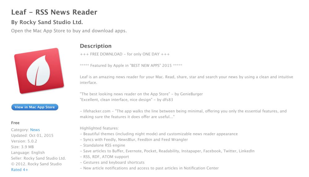 Leaf news reader-06