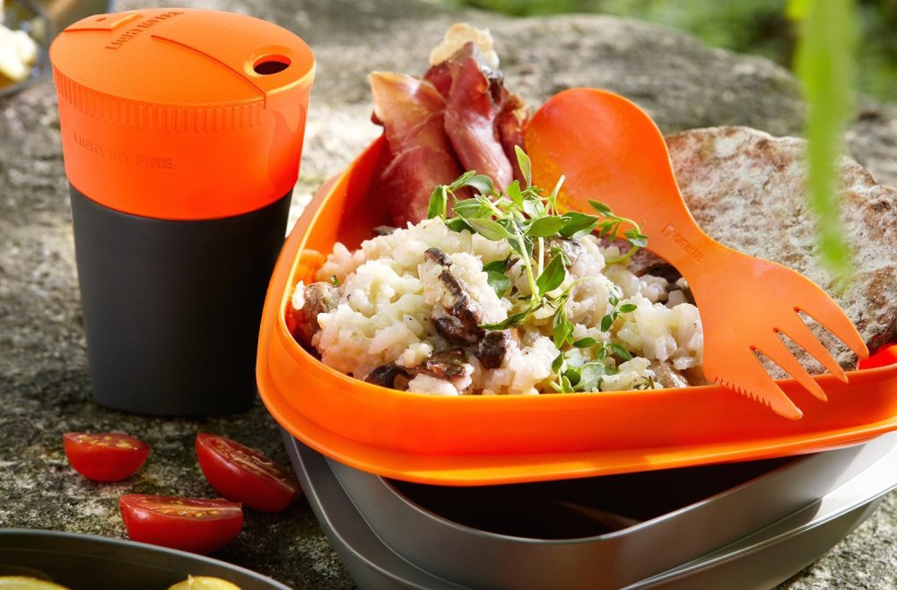 Light My Fire 8-Piece Camping Meal Kit 2.0