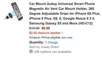 Magnetic Air Vent Car Mount Holder