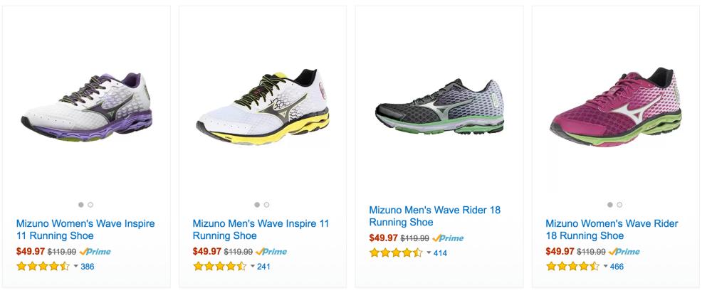 Mizuno Men's Wave Rider 18 Running Shoes-3