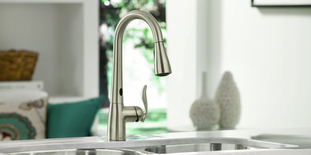 Moen kitchen faucets with MotionSense-sale-01