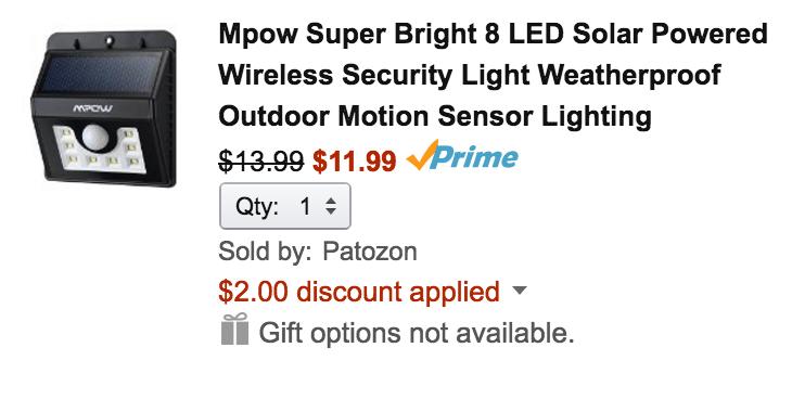 mpow-solar-amazon-deal