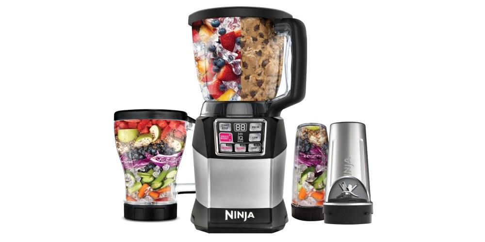 Nutri Ninja Auto-iQ Compact System in silver (BL491)