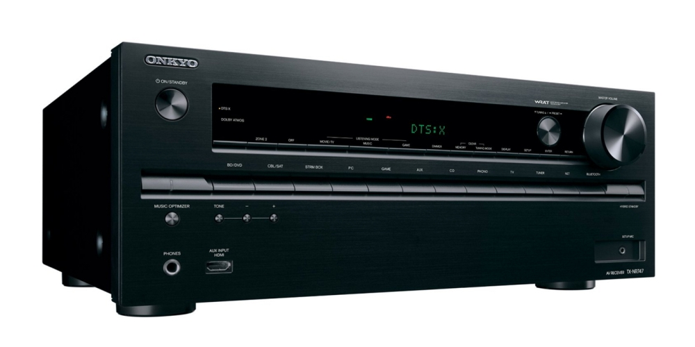 Onkyo TX-NR747 7.2-Channel Network A:V Receiver