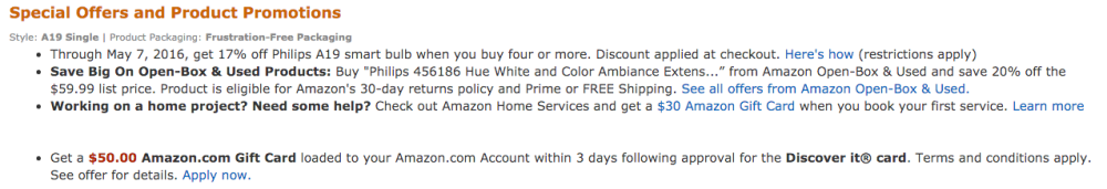 philips hue bulb amazon
