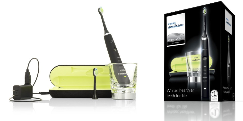 Philips Sonicare DiamondClean Sonic Electric Rechargeable Toothbrush (HX9352-3