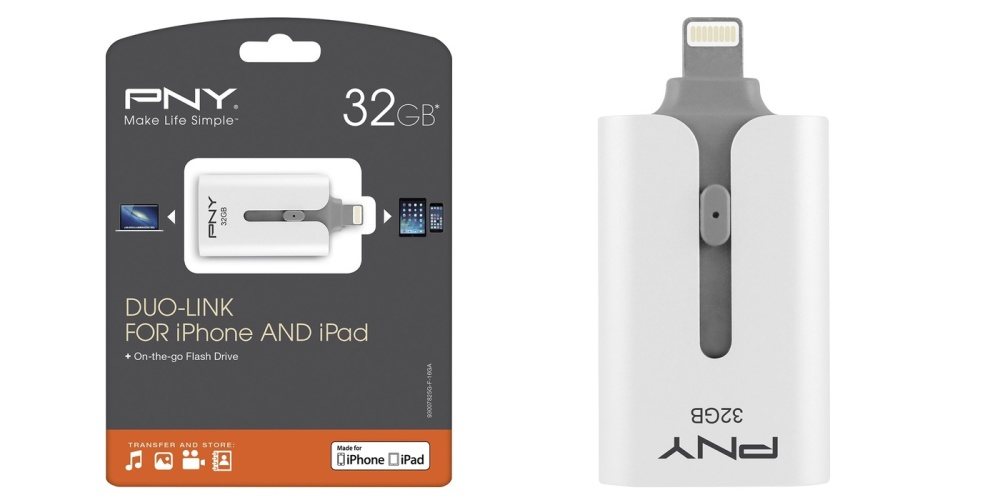 PNY 32GB Duo-Link USB Lightning Flash Drive