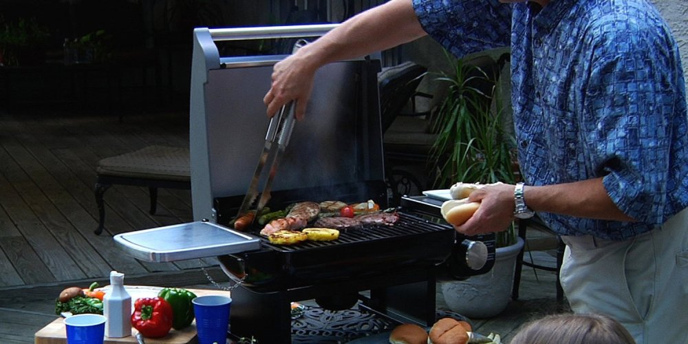 Portable Outdoor Tabletop Grill