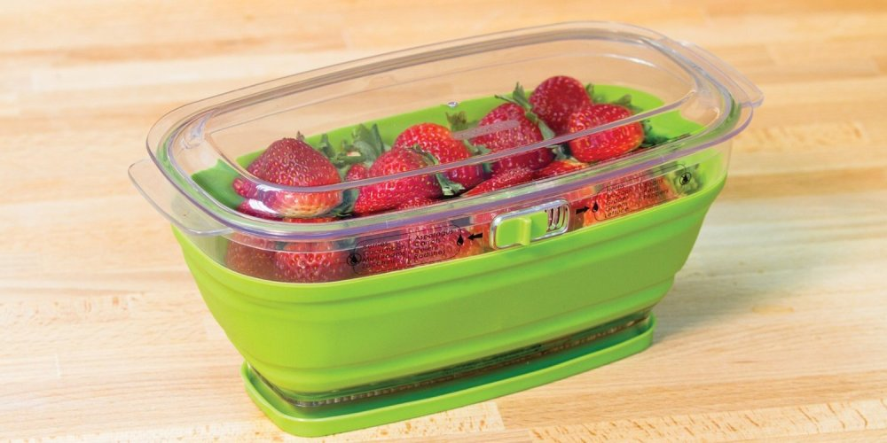Prepworks by Progressive Collapsible Mini Produce Keeper (2 Quart)