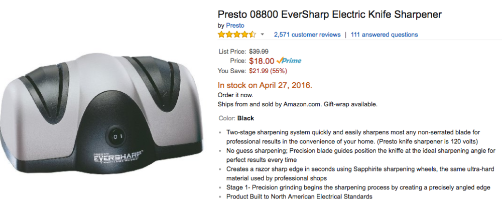 presto eversharp