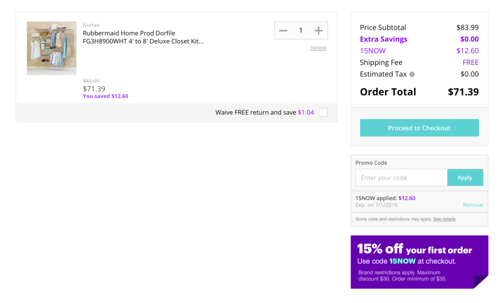 Rubbermaid Configurations Custom Closet Deluxe Kit (4-8 Foot, FG3H8900WHT)-3