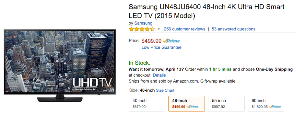 samsung uhdtv amazon