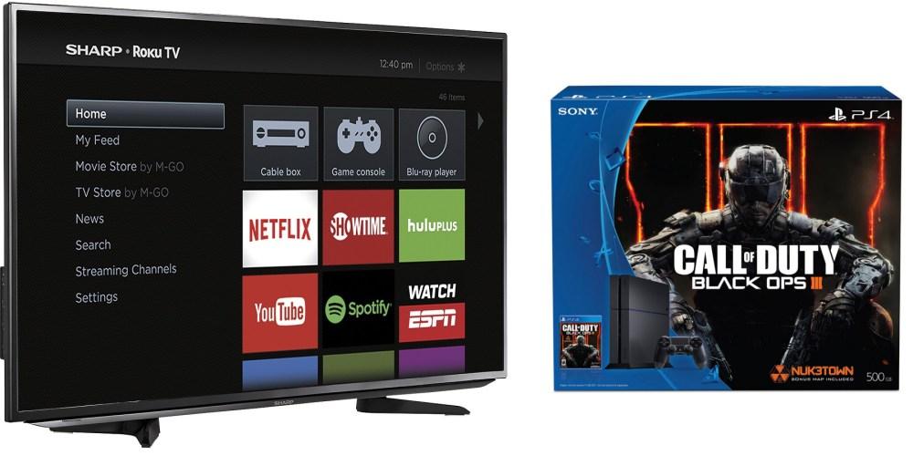 Sharp 43-inch LED 1080p Smart Roku TV