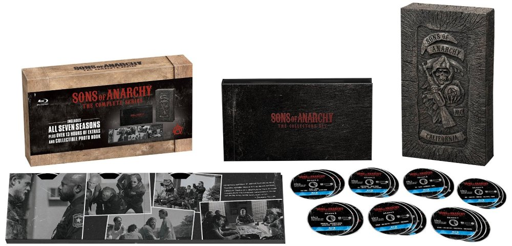 Sons of Anarchy Complete Series on Blu-ray