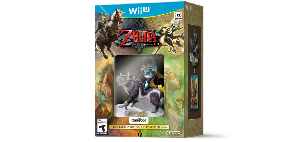 The Legend of ZeldaTwilight Princess HD with Wolf Link amiibo