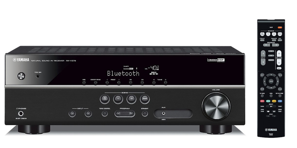 Yamaha RX-V379BL 5.1-Channel A:V Receiver with Bluetooth