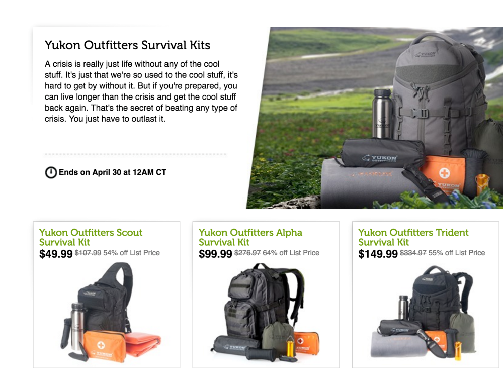 Yukon Outfitters Alpha 58-Piece Survival Kit-7