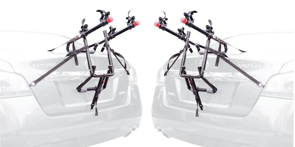Allen Sports Deluxe 2-Bike Trunk Mount Rack-2