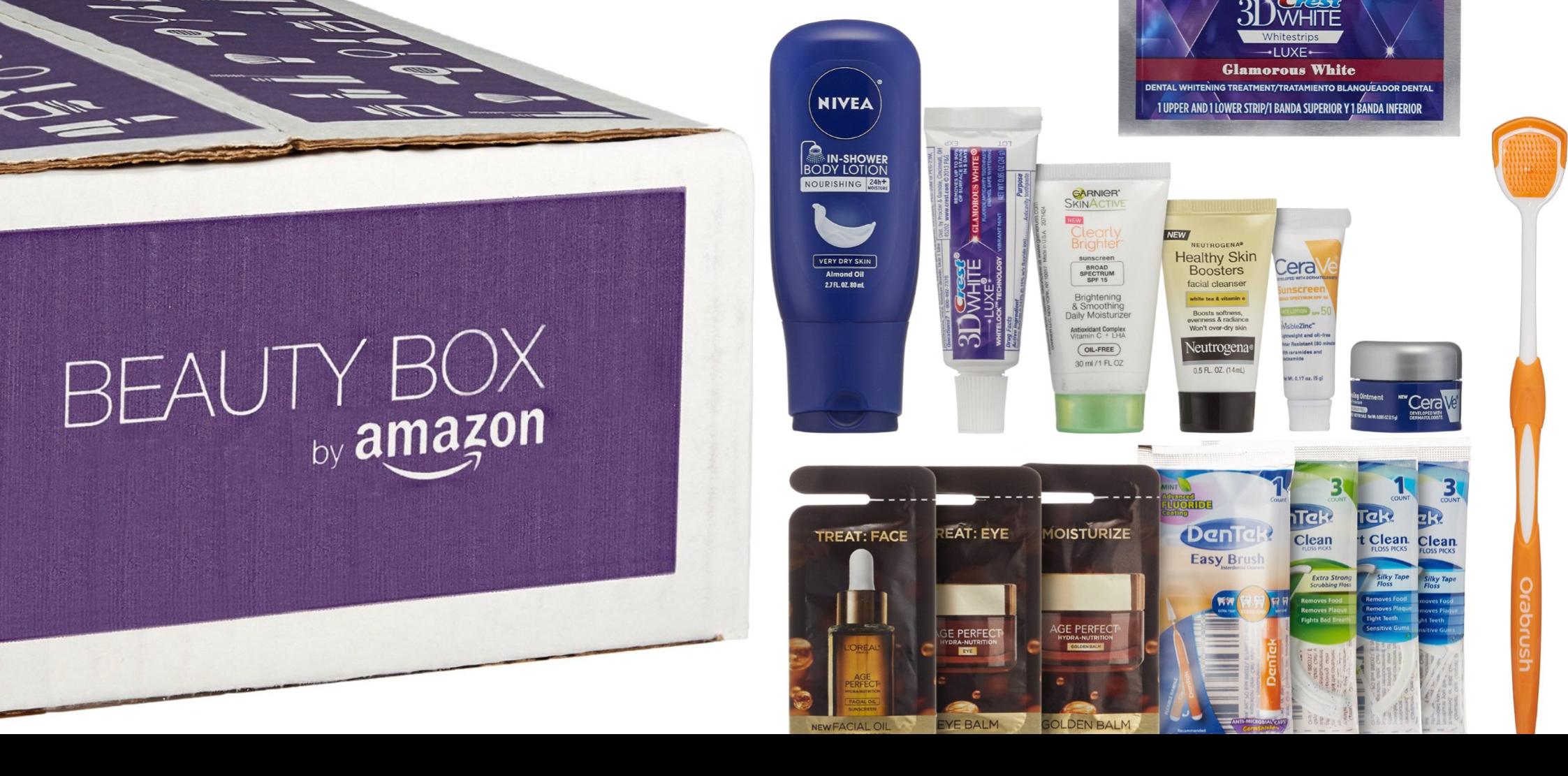 amazon beauty box sample