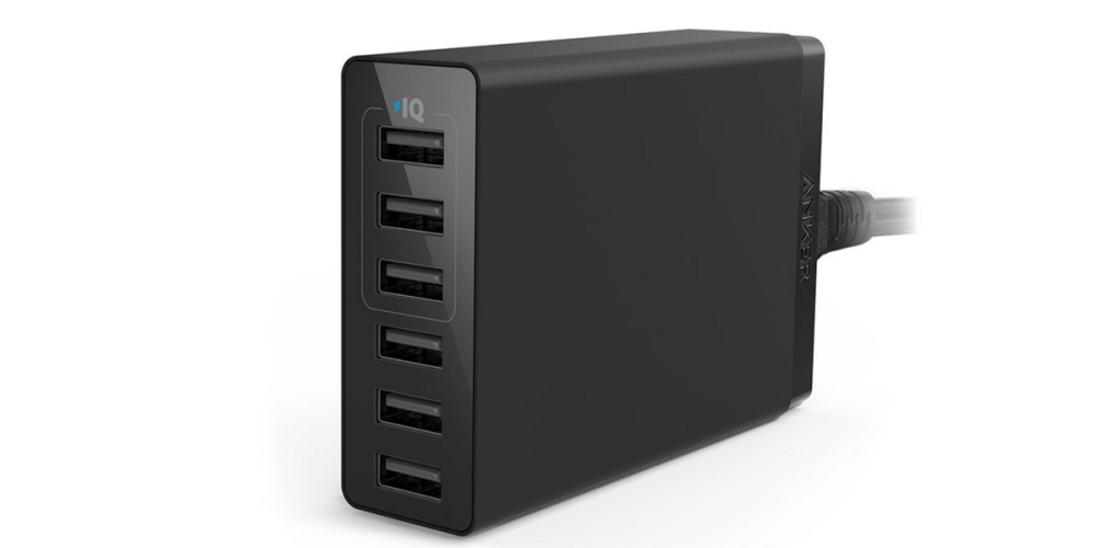 Anker 30W 6-Port USB Charger PowerPort 6