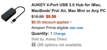 aukey coupon