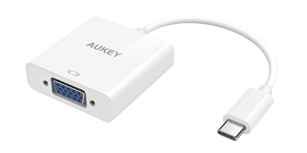 AUKEY USB 3.1 Type C to VGA Adapter