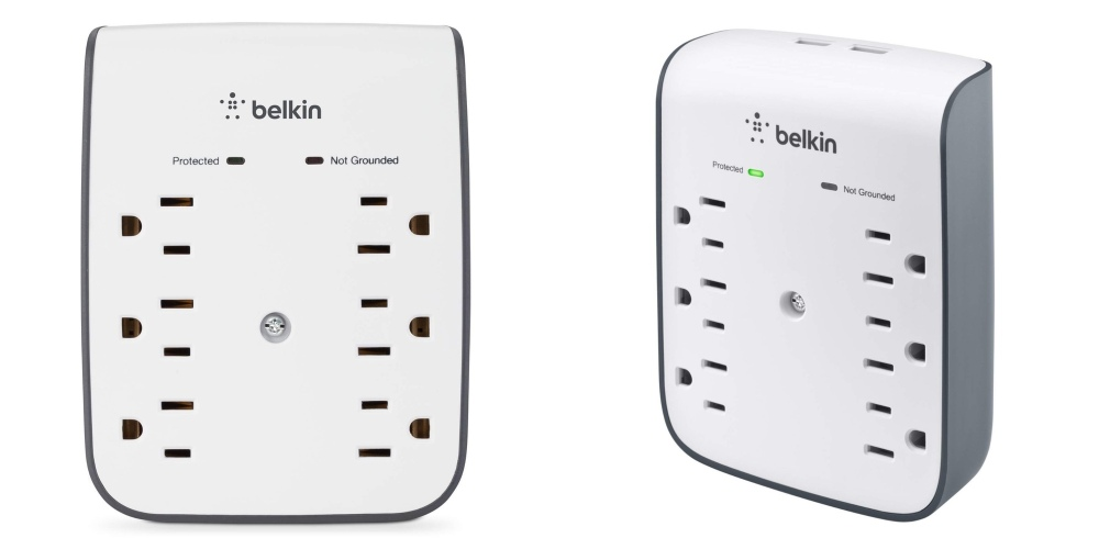 Belkin Surge Protector with USB Port Amazon