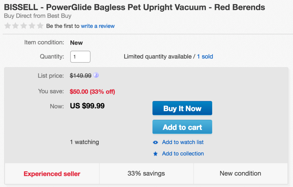 BISSELL PowerGlide upright vacuum-4