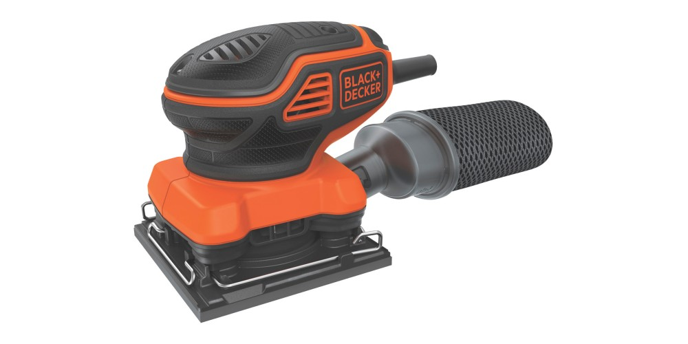 Black+Decker 1:4-Sheet Orbital Sander (BDEQS300)-3