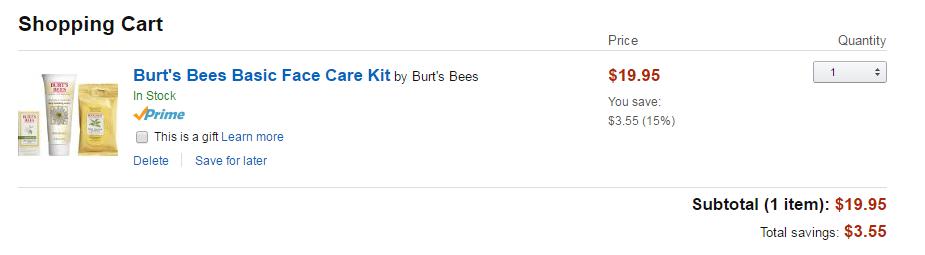 burts bees care