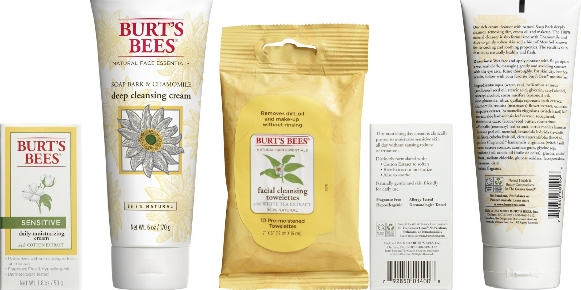 burts bees facial kit