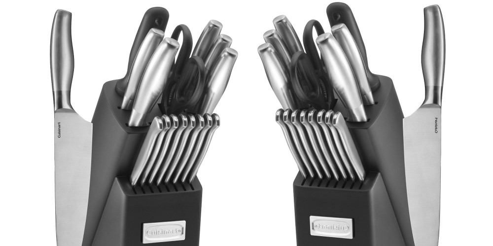 Cuisinart 17-Piece Artiste Collection Cutlery Knife Block Set-2